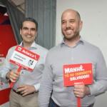 Marcius Moreno e Frederico Pedreiro, da Avianca
