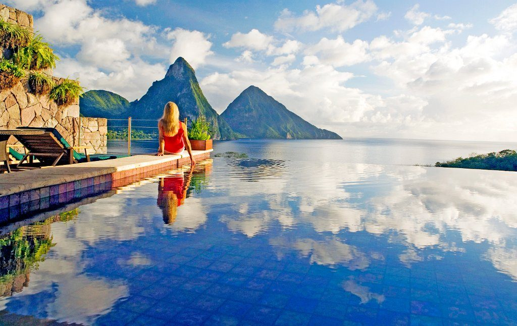 Jade Mountain Resort em Saint Lucia, no Caribe