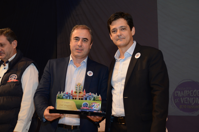 Fernando Del Cistia e Eduy Azevedo, da CVC