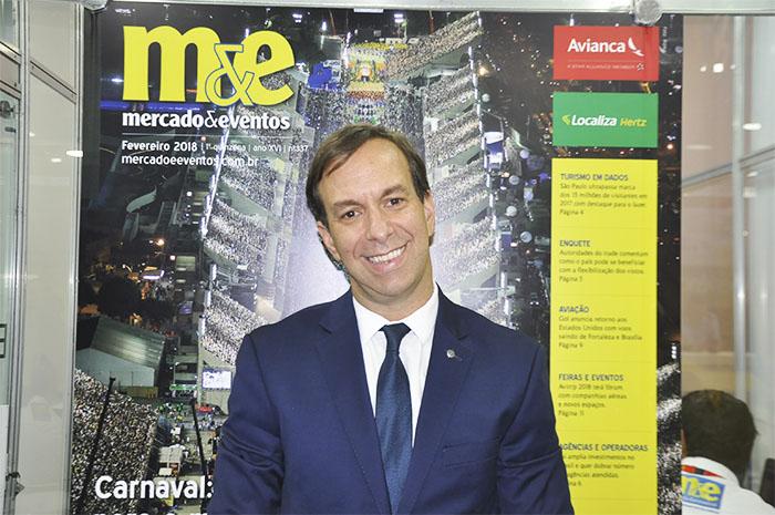 Adrian Ursilli, diretor geral da MSC