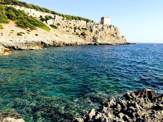Mar de  Porto Selvaggio: mergulhos incrveis