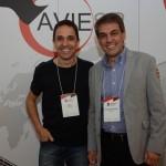 Daniel Biancarelli, da Sonho Real, e Fernando Santos, da Aviesp