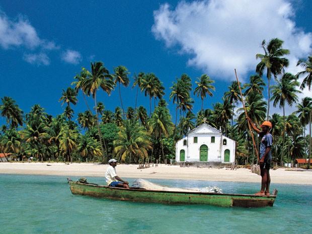 A Praia dos Carneiros é a mais procurada pelos turistas atualmente (Foto: Divulgação / Ministério do Turismo)