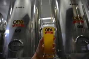 Passeio pela Opa Bier mostra os processos de produção da cerveja (Foto: Samantha Chuva)