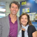 Pedro Castro e Larissa Moura, da TAL Aviation Group