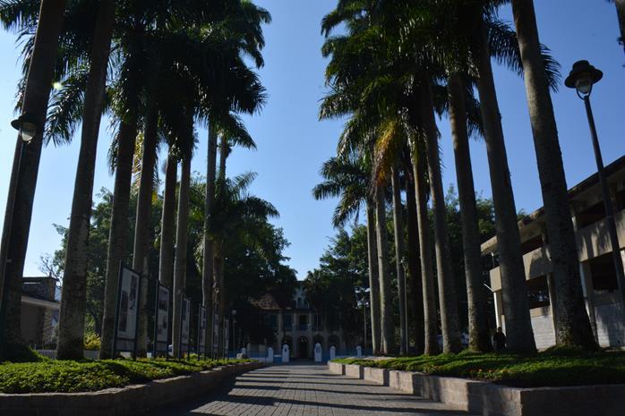 Vista do Museu Nacional de Imigração e Colonização (Foto: Samantha Chuva)