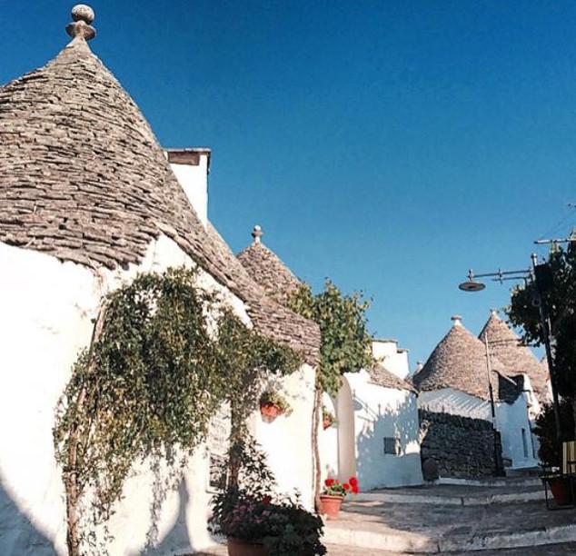 Alberobello  conhecida como cidade dos trulli