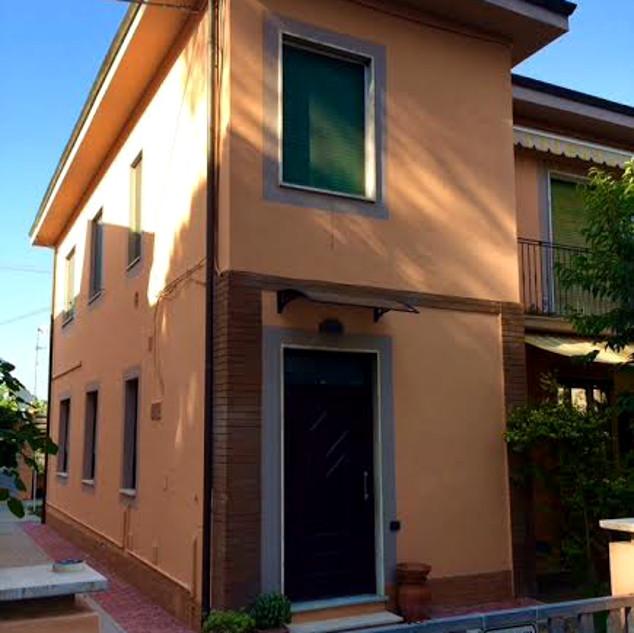 O simptico Budhas House, o BB onde ficamos em Pisa