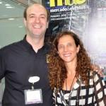 Christopher Follenus, do Balmoral Resort, e Jane Terra, do Visit Orlando