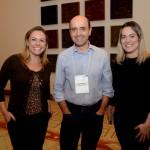 Gisele Stefanel, Antonio Dias e Diana Crull, do Royal Palm Plaza