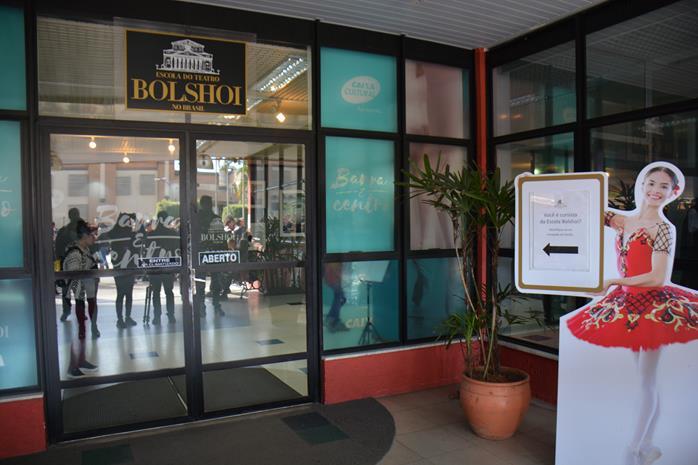 Entrada do Teatro Bolshoi no Brasil, única escola do Bolshoi fora da Rússia Entrada do Teatro Bolshoi no Brasil, única escola do Bolshoi fora da Rússia (foto: Samantha Chuva)