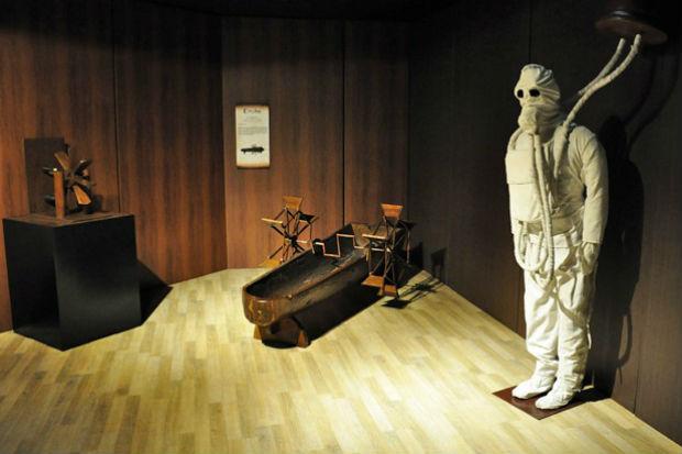 Mostra sobre Leonardo da Vinci terá equipe voltada ao público surdo e cego. Foto: Shopping RioMar/Divulgação