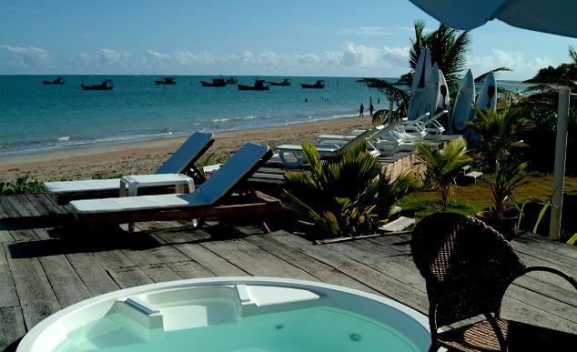 Pousadas de charme tambm atraem turistas para o litoral norte de Alagoas | Tina Magalhes