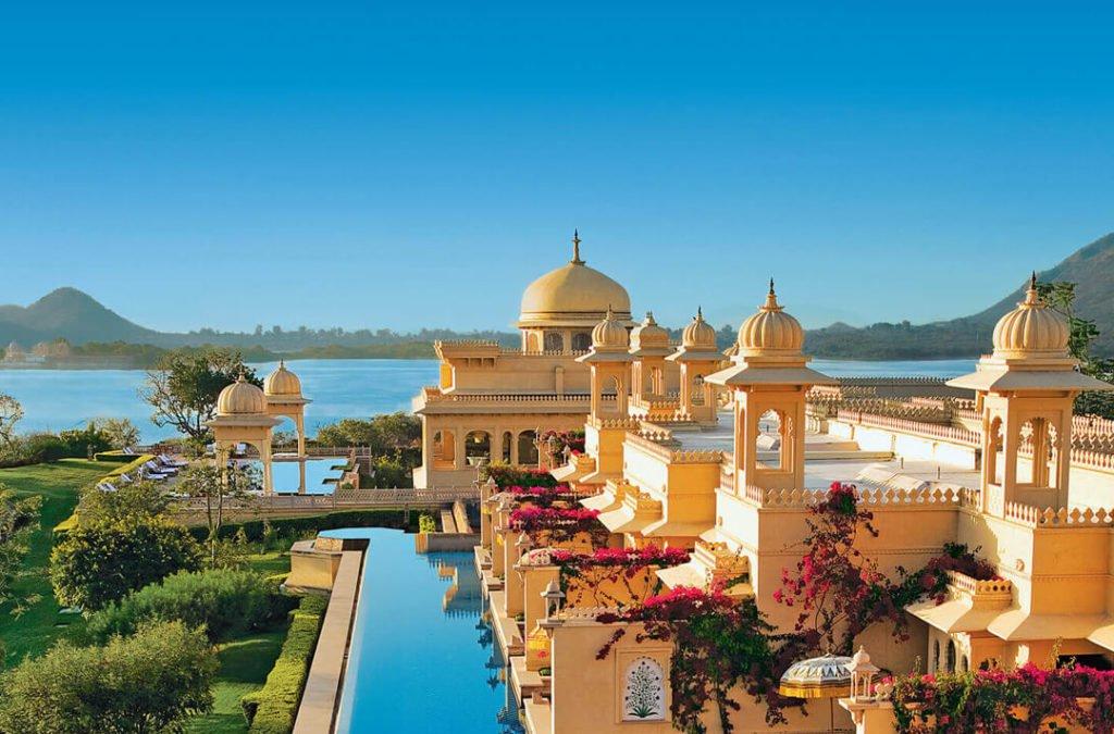 Hotel Oberoi Udaivilas, em Udaipur, estado do Rajasto, ndia