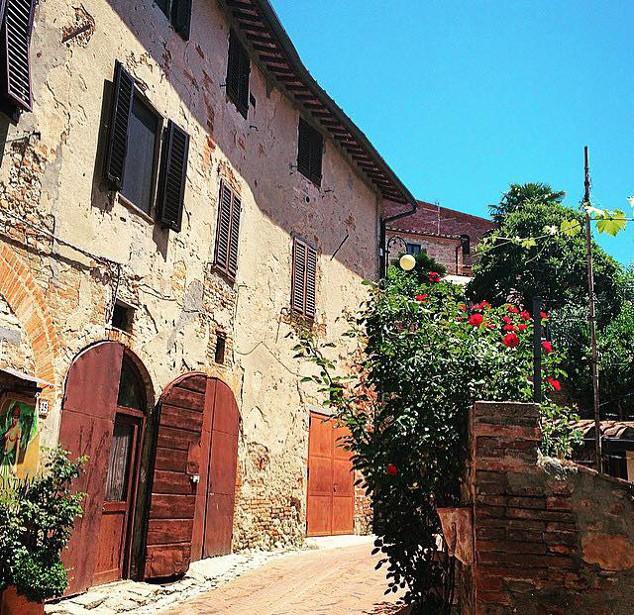 Certaldoalto-Toscana