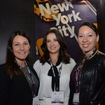 Dinah Policarpo, Cibele Moulin e Luisa Mendoza, do NYC  Company