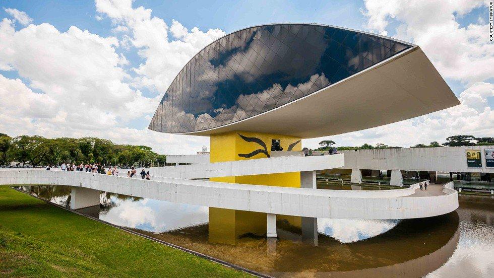 Museu Oscar Niemeyer, Curitiba (PR)