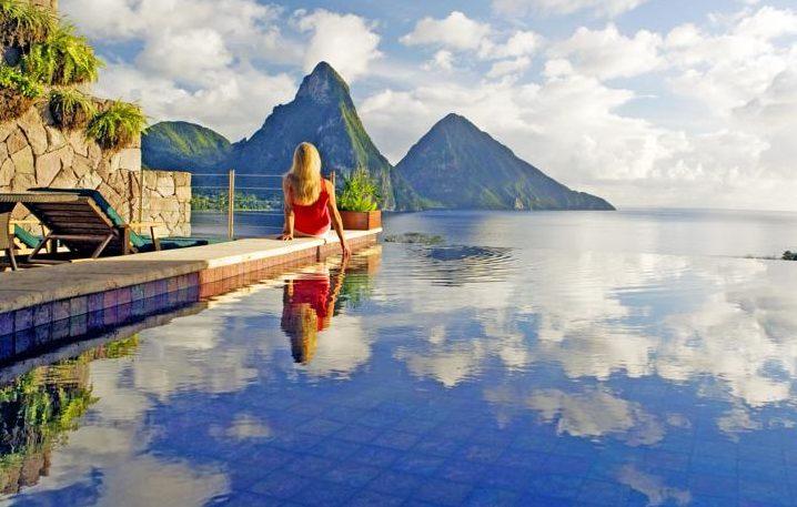 Jade Mountain Resort em St. Lucia, no Caribe