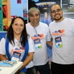 Elsa, Celso e Gabriel Miranda, da LM Turismo