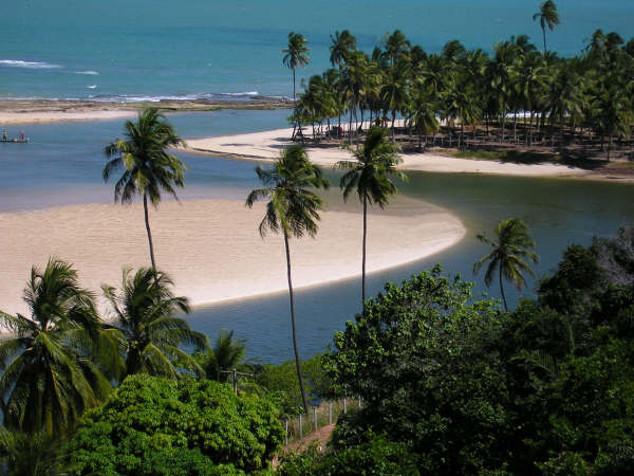 Municpio de Jequia da Praia: praias de guas cristalinas, mangue, falsias e lagoas | divulgao/Setur