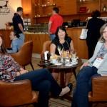 Ingrid Schoenmaker, da Holam Tour, Silze Exposto, da Sig Tur Viagens, e Cassandra Bulletini, da JHS Viagens