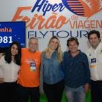 Luciana Fernandes e Vitor Bauab, do ME, Michael Barkoczy, da Flytour, com Prisicila Cardoso e Bernardo Cardoso, do Turismo de Portugal