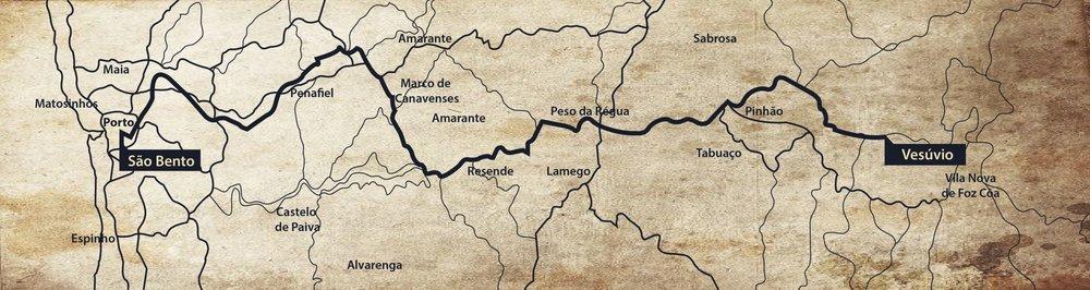 Roteiro Trem. Viajem. Comboio Presidencial Portugus. Vale do Douro.