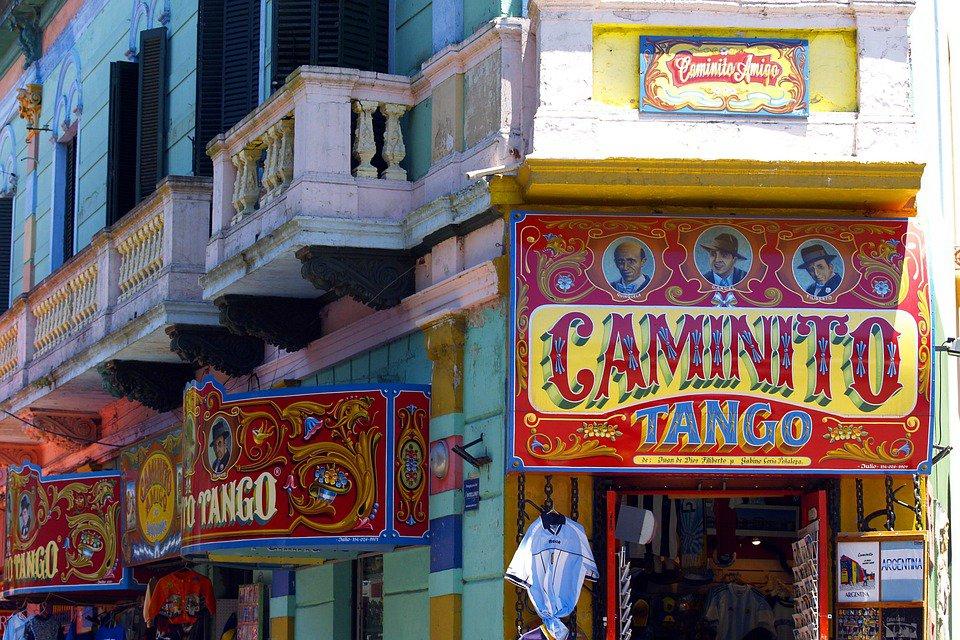El Caminito, em Buenos Aires. (fonte: Pixabay)