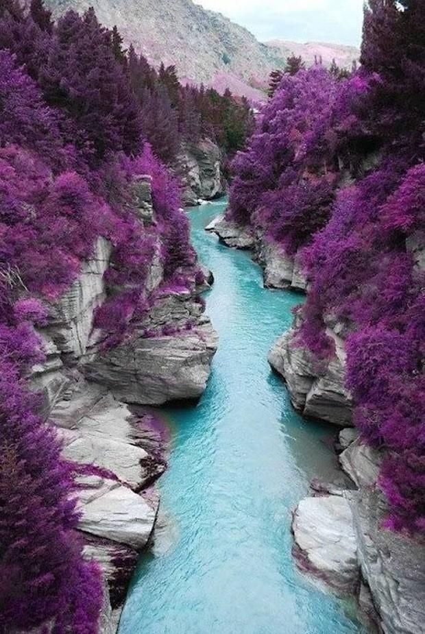 Conjunto de piscinas naturais fica em ilha da Escócia (Foto: LlenT5/Creative Commons)