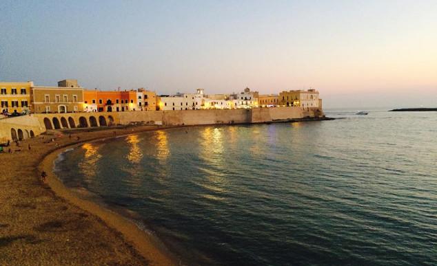 Gallipoli  uma das muitas belezas de Puglia que merecem uma visita