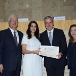 David Barioni, da SPTURIS, Adriana Ramalho, Juan Pablo de Vera, da Reed, e Silva Rubino