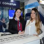 Janaina Serrato e Glaucia de Oliveira, da Copastur