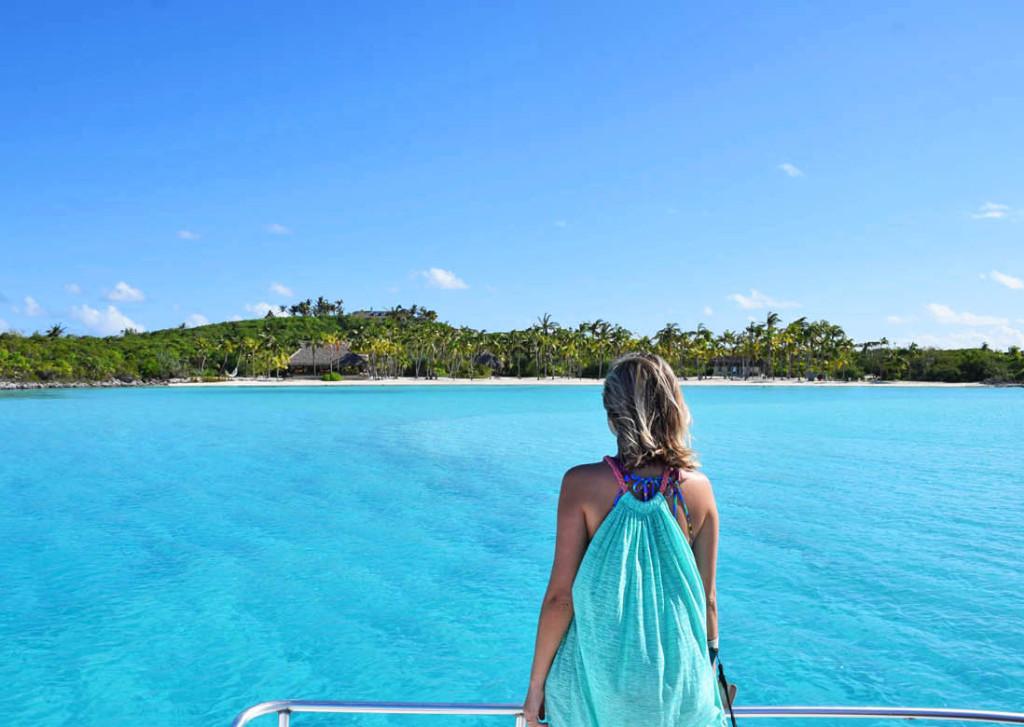 Namorando de longe Musha Cay, a ilha-hotel de David Copperfield