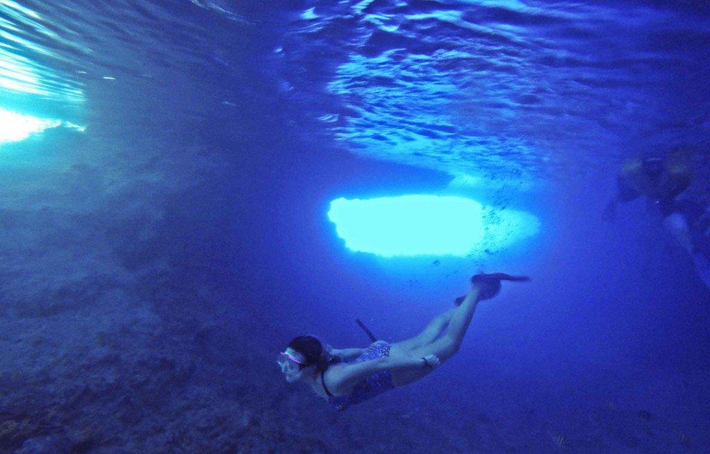 Thunderball Grotto - Exuma - Bahamas
