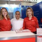 Daniela Barsante, Marcos Rocha e Paola Belon, da Avis Budget