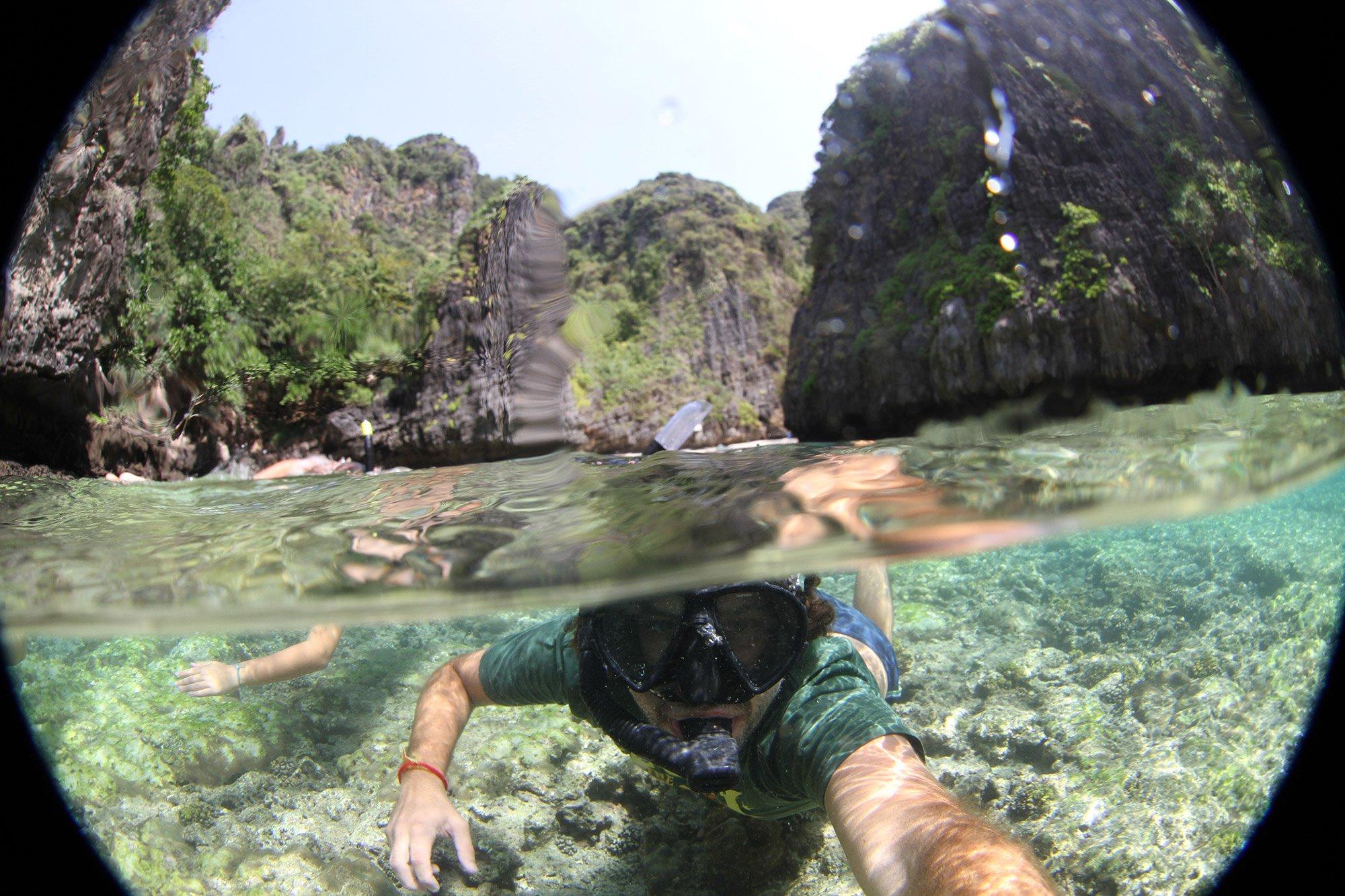 Dicas da Tailndia: a baia wah long