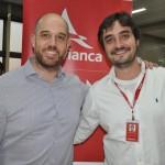 Frederico Pedreira e Arthur Furtado, presidente e gerente de marketing da Avianca Brasil