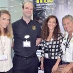 Natalia Vidal e Jane Terra do Visit Orlando, com Christopher Follenus, do Balmoral Resort, e Rosa Masgrau, do ME