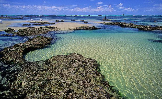 Piscinas naturais em Flecheiras: para mergulhos inesquecveis