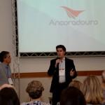 Fernando Santos, presidente da Aviesp, e Juarez Cintra Neto, presidente do Grupo Ancoradouro