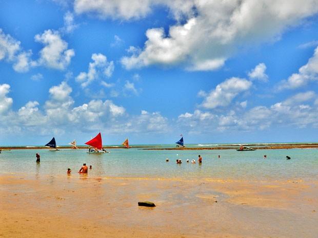 No Litoral Sul de Pernambuco, Porto de Galinhas é uma das praias mais procuradas pelos turistas (Foto: Rodrigo Cavalcanti / Prefeitura de Ipojuca)