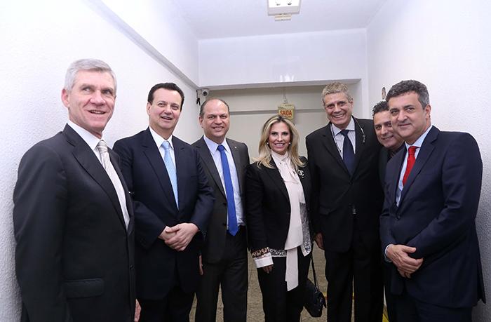 Eduardo Sciarra, Gilberto Kassab, Ricardo Barros, Cida Borghetti, Luiz Fernando Vianna, Gilmar Piolla, Alexandre Teixeira.