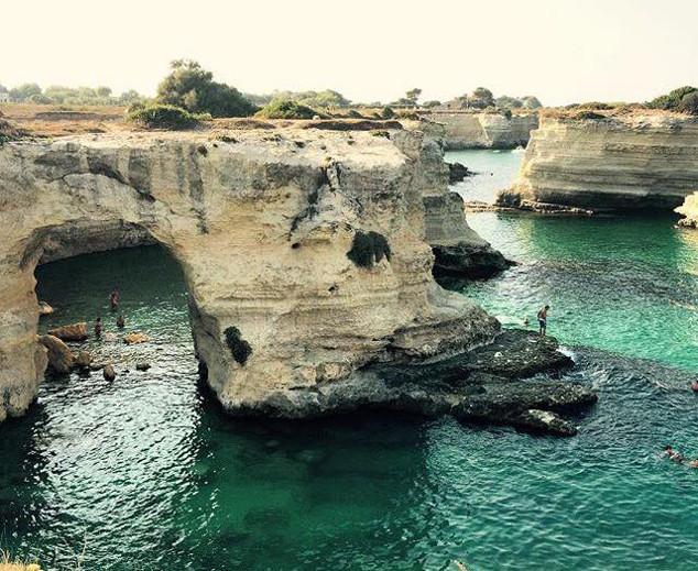 As guas de Sant'andrea, em Puglia: mergulhos incrveis