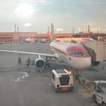 Passageiros viajaram a bordo de um A320