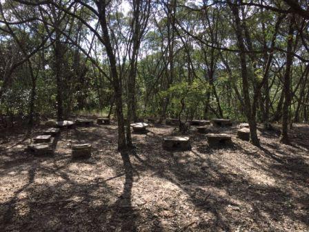 Círculo de Pedra (Foto: Gabriela Mendes)