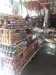 Loja de queijos e doces (Foto: Gabriela Mendes)