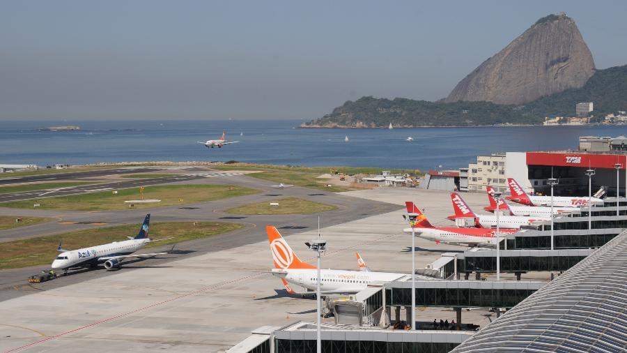 Latam e Azul retomam suas operações no Santos Dumont (RJ) hoje