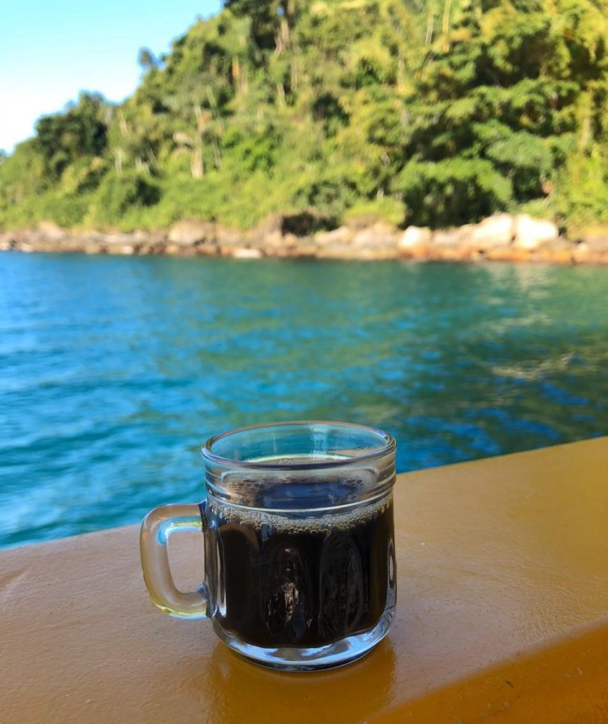 Nada como um café para iniciar mais um dia na incrível Paraty