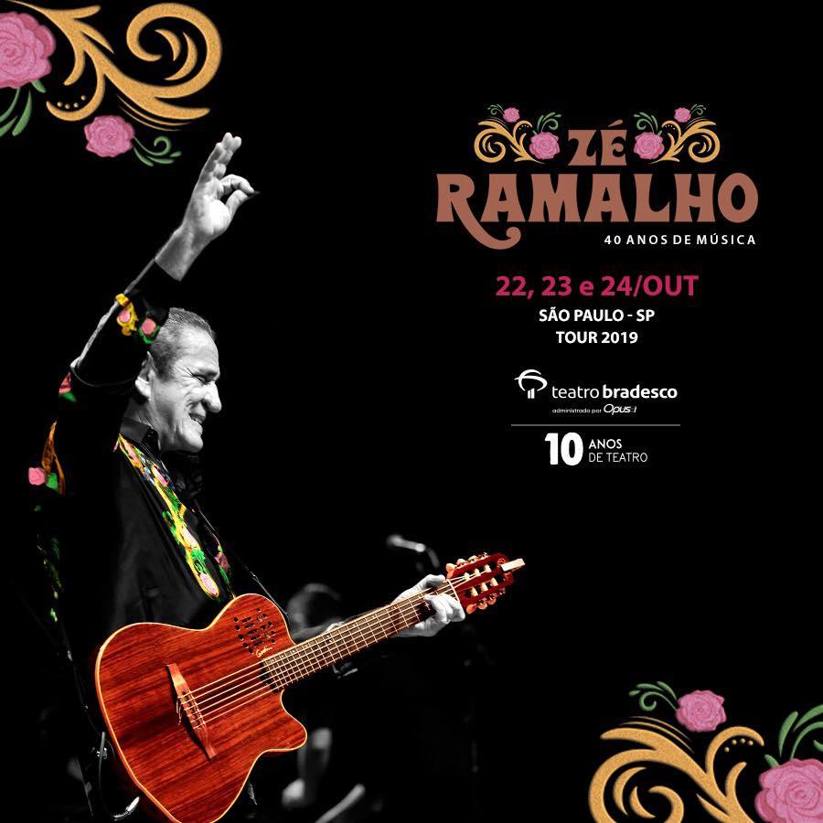 Zé Ramalho no teatro Bradesco