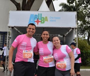 Carlos Barbosa, Rafaela Gil e Fernanda Teixeira, da Autoridade de Turismo de Aruba no Brasil